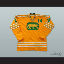 WHA 1973-74 Chicago Cougars Ralph Backstrom 14 Away Hockey Jersey