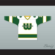 WHA 1973-74 New England Whalers Rick Ley 2 Home Hockey Jersey
