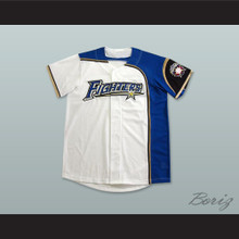 Hokkaido Nippon-Ham Fighters Baseball Jersey Includes Patch
