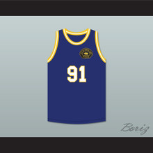 South Gate Police Captain O'Malley 91 Basketball Jersey Includes Patch