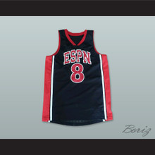Entertainment and Sports Programming Network 8 Basketball Jersey