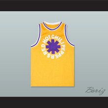 RHCP 83 Yellow Basketball Jersey