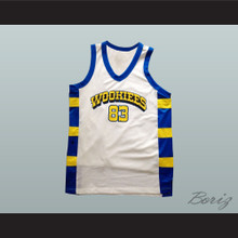 Chewie 83 Wookiees White Basketball Jersey