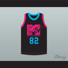 Neon Icon Riff Raff 82 Rock N' Jock Basketball Jersey