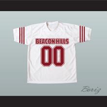 Derek Hale 00 Beacon Hills Cyclones Maroon White Lacrosse Jersey Teen Wolf