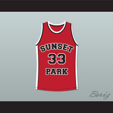 Talent Harris Butter 33 Sunset Park Basketball Jersey