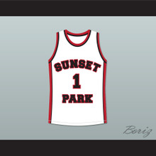 Fredro Starr Shorty 1 Sunset Park White Basketball Jersey