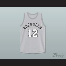 Allen Iverson 12 Aberdeen Elementary School Basketball Jersey
