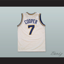 Mark Curry Mark Cooper 7 Pro Career Basketball Jersey Hangin' with Mr. Cooper