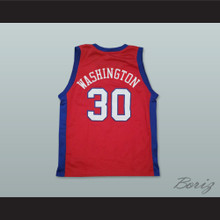 Flex Alexander Flex Washington 30 Pro Career Basketball Jersey One on One