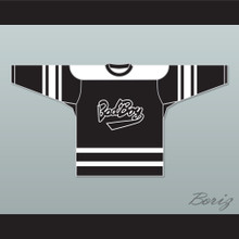Notorious B.I.G. 97 Bad Boy Black Hockey Jersey