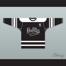 Notorious B.I.G. 97 Bad Boy Black Hockey Jersey Includes Patch