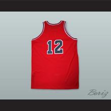 Michael Jordan 12 Valentine's Day Incident Basketball Jersey