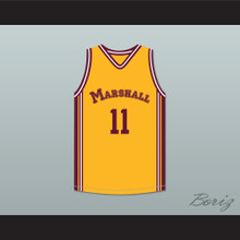 Arthur Agee 11 John Marshall Metropolitan High School Commandos Basketball Jersey Hoop Dreams