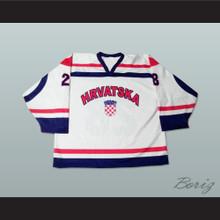 Croatia National Team Hockey Jersey