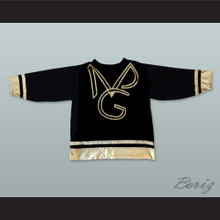 Prince and The New Power Generation Black Hockey Jersey