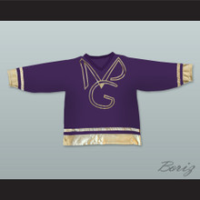 Prince and The New Power Generation Purple Hockey Jersey