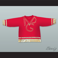Prince and The New Power Generation Red Hockey Jersey