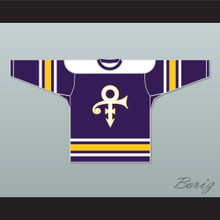 Prince Tribute Purple Hockey Jersey