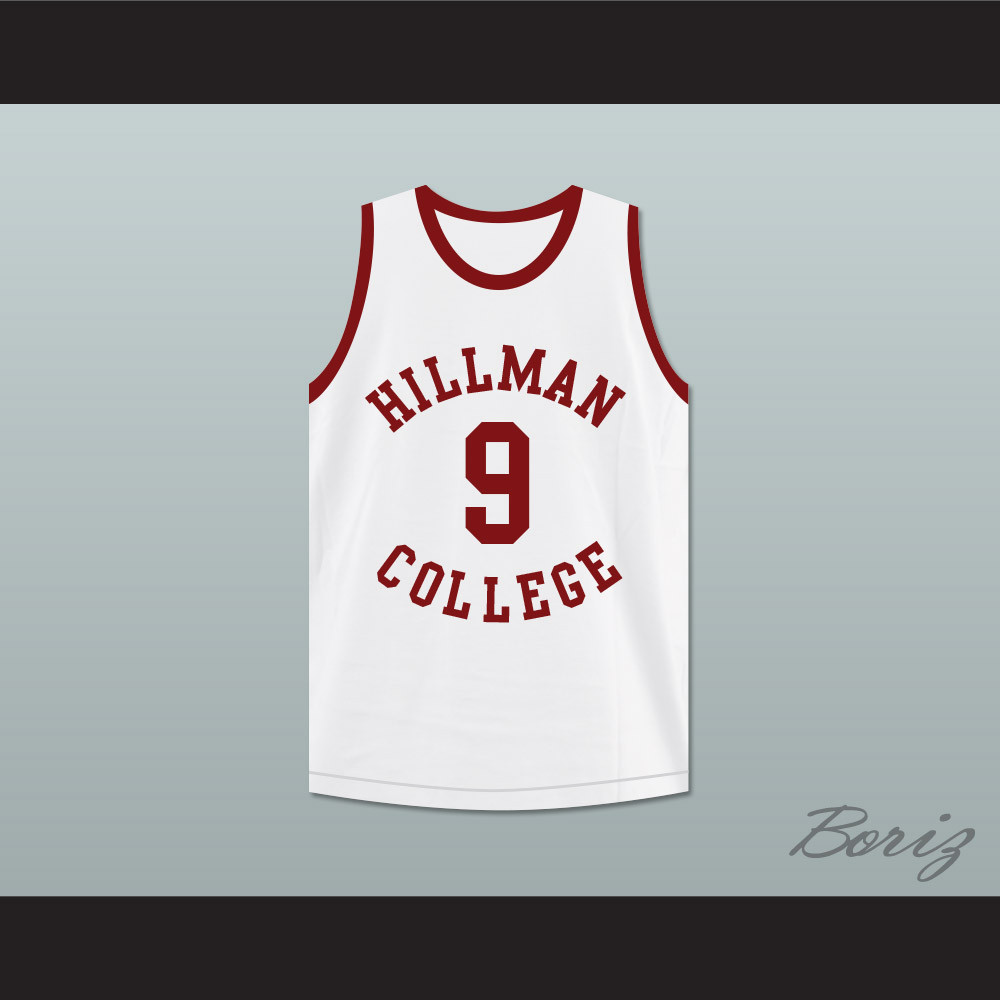 32755590f257 Kadeem Hardison Dwayne Wayne 9 Hillman College White Basketball Jersey A  Different World. Price   45.99. Image 1