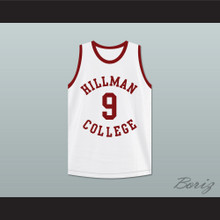 Kadeem Hardison Dwayne Wayne 9 Hillman College White Basketball Jersey A Different World