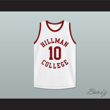Darryl M. Bell Ronald 'Ron' Johnson 10 Hillman College White Basketball Jersey A Different World