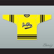 Notorious B.I.G. 97 Bad Boy Yellow Hockey Jersey