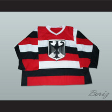 Germany National Team Striped Hockey Jersey Any Player or Number