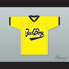 Biggie Smalls 10 Bad Boy Yellow Football Jersey