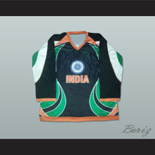 India National Team Hockey Jersey Any Name or Number New