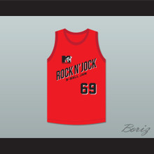 Flea 69 Bricklayers Basketball Jersey Second Annual Rock N' Jock B-Ball Jam 1992