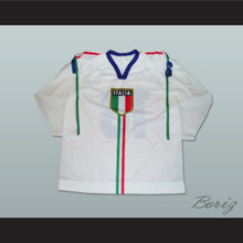 Italy National Team Hockey Jersey Any Player or Number