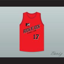 Chris Mullin 17 Bricklayers Basketball Jersey Second Annual Rock N' Jock B-Ball Jam 1992