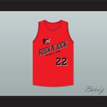 John Salley 22 Bricklayers Basketball Jersey Second Annual Rock N' Jock B-Ball Jam 1992