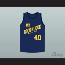 Shawn Kemp 40 Violators Basketball Jersey Second Annual Rock N' Jock B-Ball Jam 1992