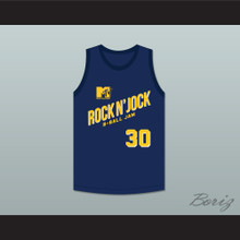 Billy Owens 30 Violators Basketball Jersey Second Annual Rock N' Jock B-Ball Jam 1992