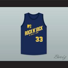 Coach Robert Townsend 33 Violators Basketball Jersey Second Annual Rock N' Jock B-Ball Jam 1992