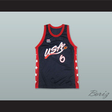 1996 Penny Hardaway 6 USA Team Away Basketball Jersey