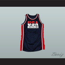 USA Team Away Basketball Jersey Custom Name and Number