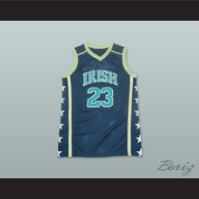 Lebron James 23 Fighting Irish High School Black Basketball Jersey