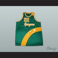 Elgin Baylor 22 Spingarn High School Basketball Jersey
