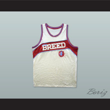 Rucker Park New Breed 4 White Basketball Jersey
