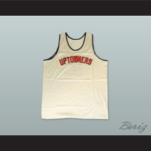1973 Rucker Park Uptowners 12 White Basketball Jersey