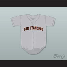Kenny Powers 55 San Francisco Baseball Jersey Eastbound & Down