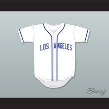 Craig Robinson Reg Mackworthy 56 Los Angeles Baseball Jersey Eastbound & Down