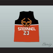 1985 Stefanel Trieste Italy Michael Jordan Basketball Jersey