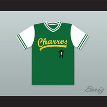 Danny McBride Kenny Powers 55 Charros Home Baseball Jersey Eastbound & Down