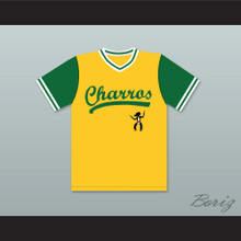Danny McBride Kenny Powers 55 Charros Away Baseball Jersey Eastbound & Down