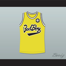 Biggie Smalls 10 Bad Boy Basketball Jersey with 20 Years Patch