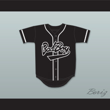Biggie Smalls 10 Bad Boy Black Baseball Jersey